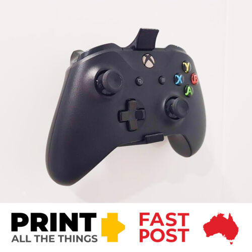 Xbox One S Controller Wall Mount (Black or White)