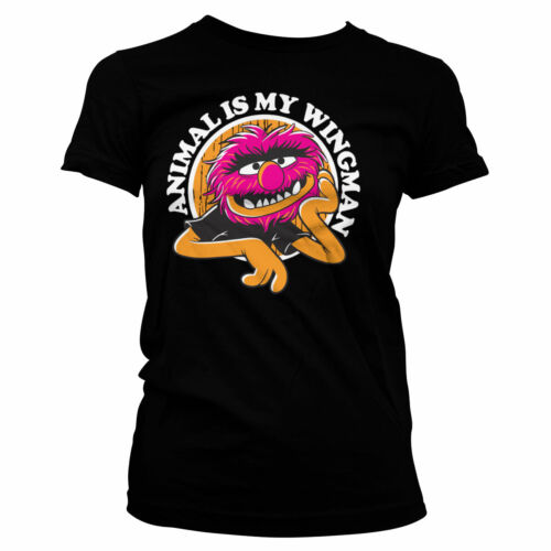 Officially Licensed The Muppets - Animal Is My Wingman Women T-Shirt S-XXL Sizes
