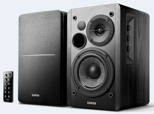Edifier R1280DB BLACK 2.0 Lifestyle Studio Speakers with Bluetooth and Optical