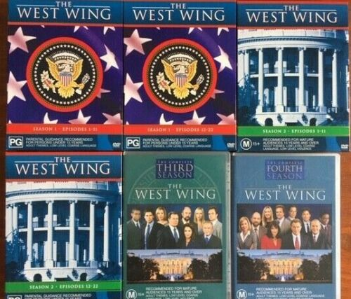 The West Wing Season 1, 2, 3 & 4   R4 DVD  FREE POST