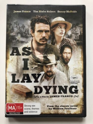 As I Lay Dying - James Franco (DVD) Region 4- NEW & SEALED
