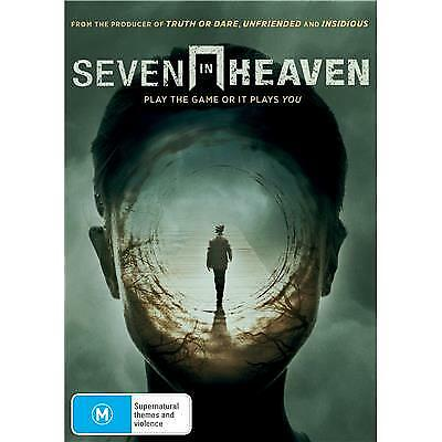 SEVEN IN HEAVEN DVD, NEW & SEALED, 2019 RELEASE, FREE POST