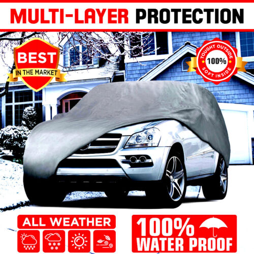 Multi-layer Genuine Waterproof Suv/van Cover For Auto Car Protect All Weather Xl