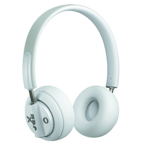 Jam Out There Wireless Bluetooth Active Noise Cancelling Headphones w/ Mic Grey