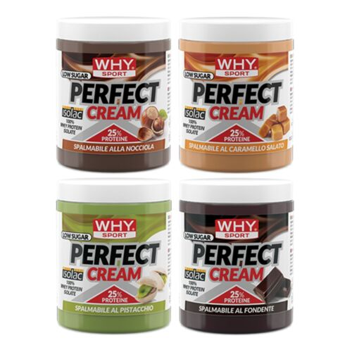 WHY SPORT PERFECT CREAM 300 gr CREMA PROTEICA SPALMABILE SENZA ZUCCHERI