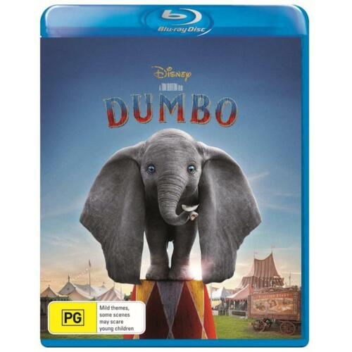 DUMBO BLU-RAY NEW & SEALED, 2019 RELEASE, FREE POST