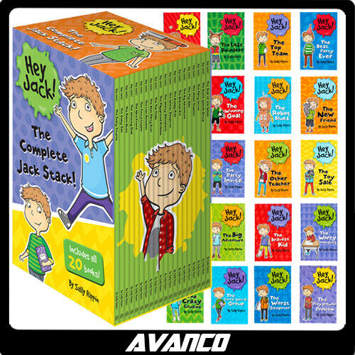 Hey Jack The Complete Jack Stack All 20 Books Box Set Sally Rippin NEW SEALED