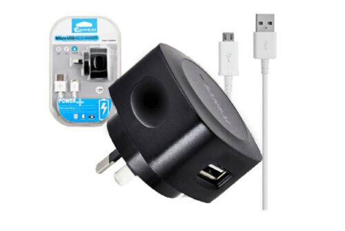 Sansai Charger Micro USB Charging Cable for Android/Samsung Galaxy/LG/HTC Black