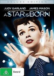 A STAR IS BORN DVD, THE ORIGINAL WITH JUDY GARLAND, 1954, FREE POST