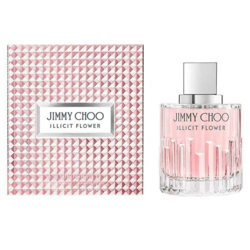 New Jimmy Choo Illicit Flower Eau De Toilette 100ml Perfume