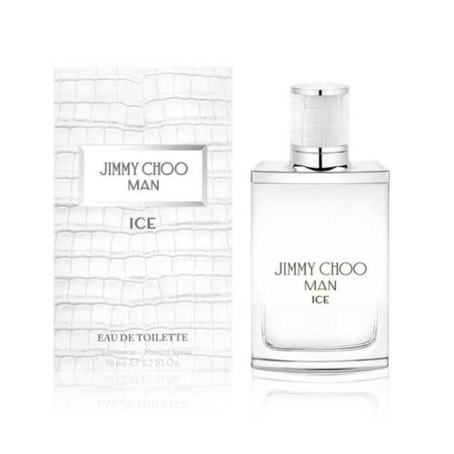 New Jimmy Choo Man Ice Eau De Toilette 50ml Perfume