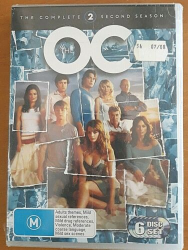 The O.C. Season 2 Te Complete 2nd DVD 6-Disc Set)  New & Sealed R4 2005