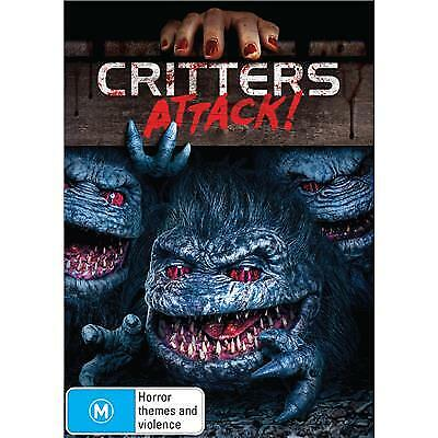 CRITTERS ATTACK DVD, NEW & SEALED, 2019 RELEASE, FREE POST.