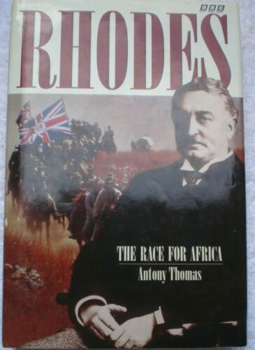 BOOK MILITARY WAR RHODES THE RACE FOR AFRICA 368 PAGES ILLUSTRATED