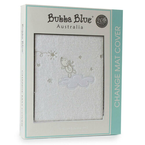 Bubba Blue 48x82cm Wish Upon A Star Change Cotton Cover f/ Baby/infant White