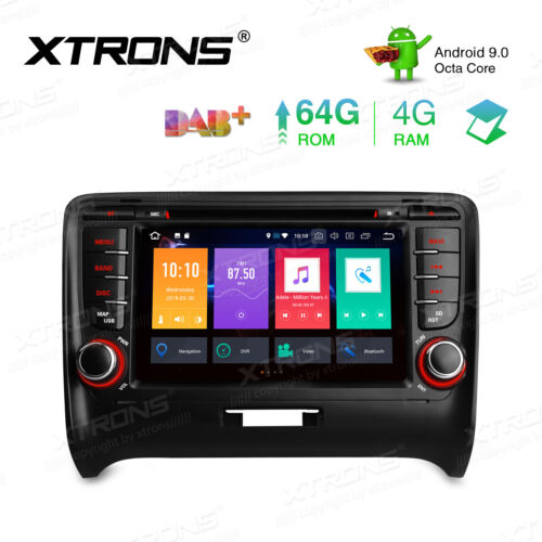 Android 9.0 Car Stereo Radio DVD GPS Player Navigation for Audi TT MK2 2006-2012
