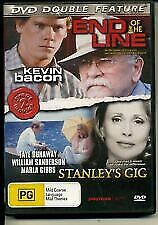 Double Movie Feature DVD End Of The Line + Stanley's Gig NEW