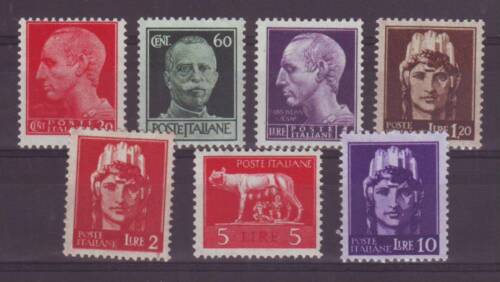 LUOGOTENENZA 1945 IMPERIALE RUOTA ROMA ** SERIE EXTRA LUSSO... MNH VF