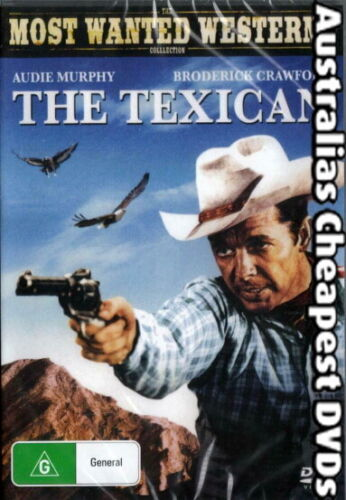The Texican DVD NEW, FREE POSTAGE WITHIN AUSTRALIA REGION ALL