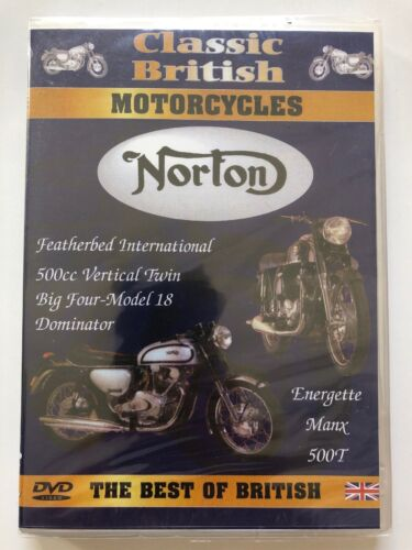 Classic British Motorcycles - Norton (DVD) NEW & SEALED