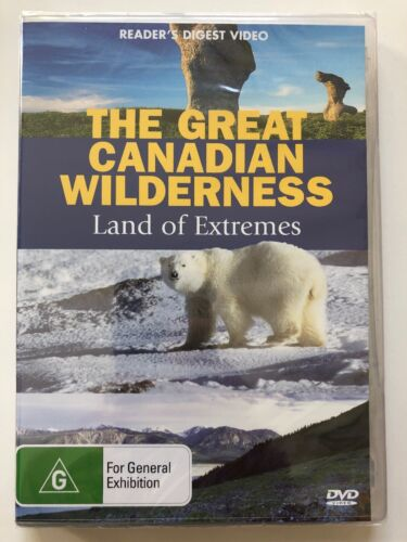 The Great Canadian Wilderness- Land of Extremes Reader's Digest (DVD) NEW SEALED