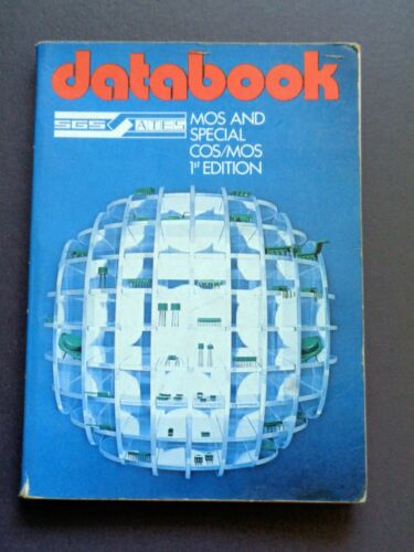 SGS ATES MOS and Special COS/MOS 1st Edition Databook 1979