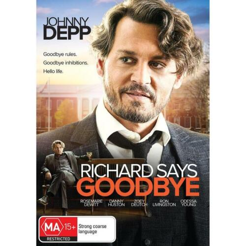 RICHARD SAYS GOODBYE DVD, NEW & SEALED, 2019 RELEASE, FREE POST