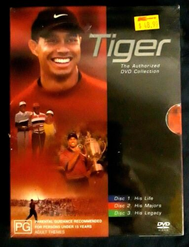 Tiger the Authorised DVD Collection 3 DVD Box Set Region 4 R4 New & Sealed Woods