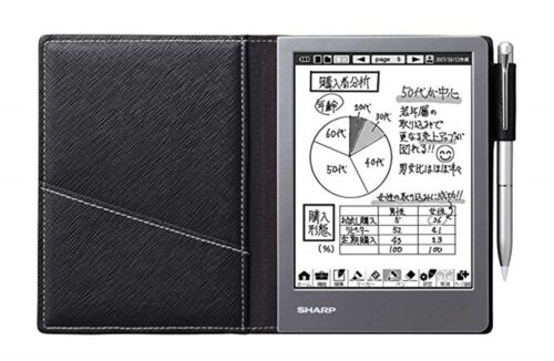 SHARP WG-S50 Electronic Notebook Black Japan Import NEW