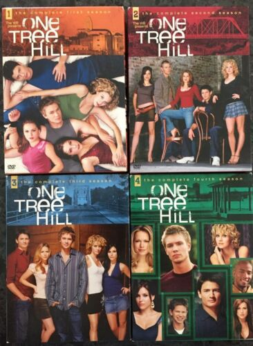 One Tree Hill : The Complete 1, 2, 3 & 4 Season (R1 DVD) AS NEW FREE POST