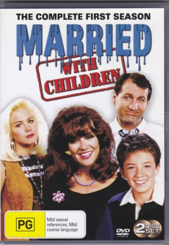 Married With Children - The Complete First Season - DVD (Region 4 PAL)