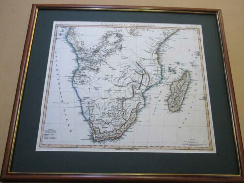 Africa. South. 1846. Map