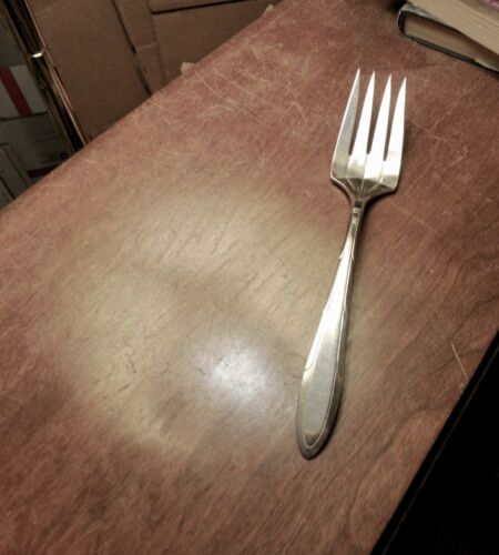 Nobility Plate Reverie serving fork 8 3/8 inches no monogram