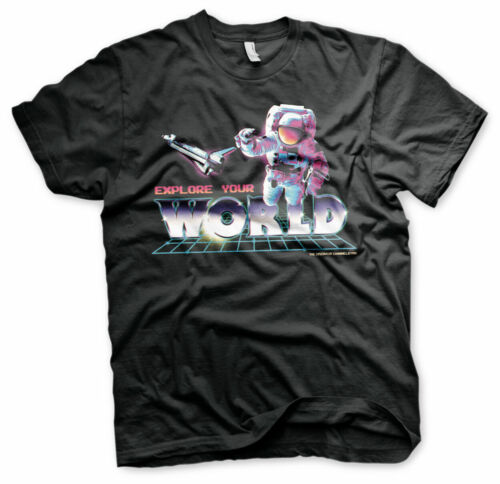 Officially Licensed Discovery Channel - Explore Your World Men's T-Shirt S-XXL