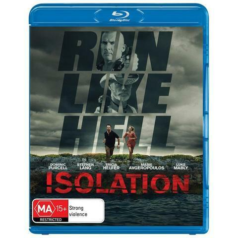ISOLATION RUN LIKE HELL BLU-RAY, BRAND NEW & SEALED, 2017 RELEASE, FREE POST