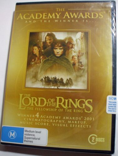 LOTR Fellowship Of The Ring : Academy Award Edition new/sealed 2x R4 DVD posted