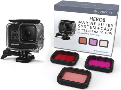 GoScope Marine Filter System and Case | For GoPro HERO8 Black