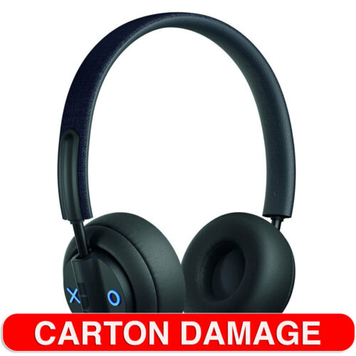 Jam Black Out There Wireless Bluetooth Active Noise Cancelling Headphones w/Mic