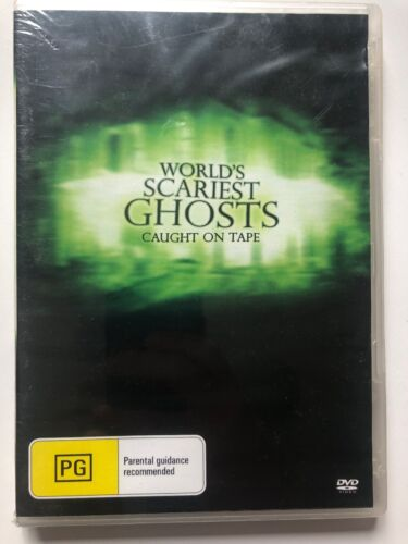 World's Scariest Ghosts - Caught on Tape (DVD) ALL Regions - NEW & SEALED
