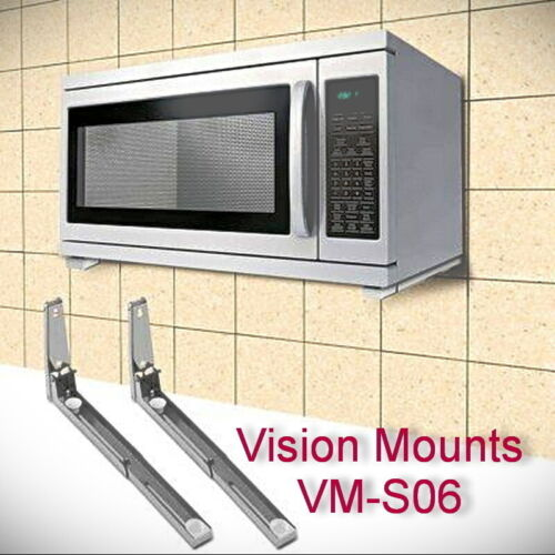 Bracket Mount for Microwave upto Universal Wall Shelf Rack Vision Mounts VM-S06