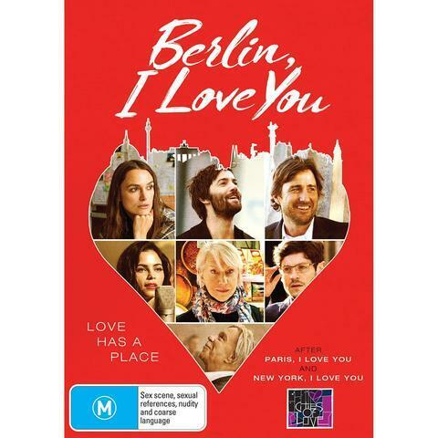 BERLIN, I LOVE YOU DVD, ** NEW RELEASE **NEW & SEALED, 2020 RELEASE, FREE POST