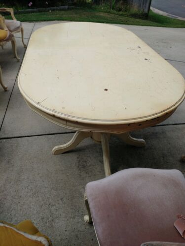 Reproduction Antique Dining table and chairs