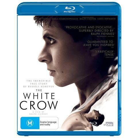 THE WHITE CROW BLU-RAY, NEW & SEALED, 2019 RELEASE, FREE POST.
