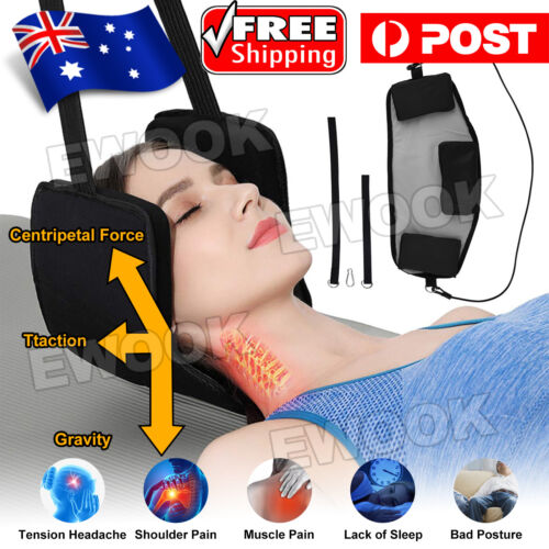 2020 Head Hammock for Neck Pain Relief Cervical Traction Massager Tools NEW