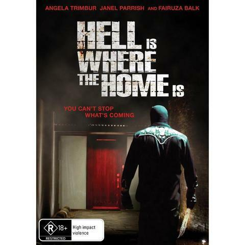 HELL IS WHERE THE HOME IS DVD, NEW & SEALED, ** NEW RELEASE ** FREE POST