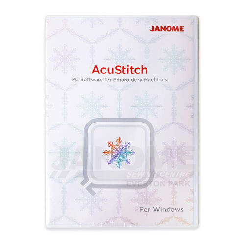 JANOME AcuStitch PC Software for Windows