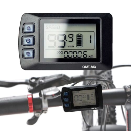OMT-M3 Ebike 48V LCD Display Control Panel Electric Bicycle Bike Scooter Ebike