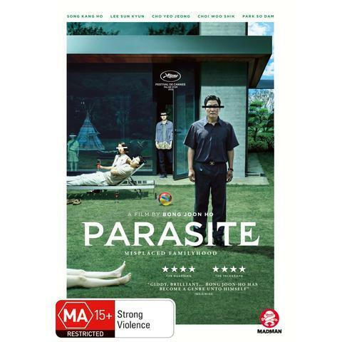 PARASITE DVD, NEW & SEALED, ** NEW RELEASE **, FREE POST