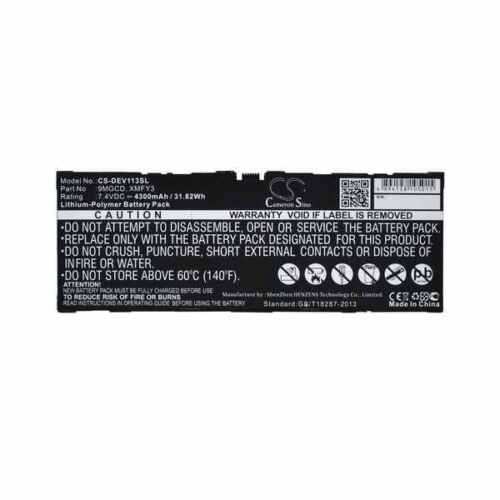 Battery For DELL XMFY3