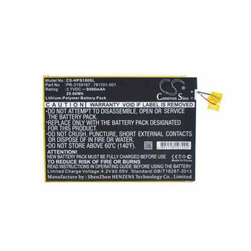 Battery For HP Slate 10 Plus
